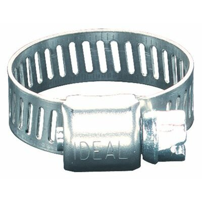 "Ideal 62P Series Small Diameter Clamps - 3/8"" to 1-1/16"" micro-gear hose clamp"