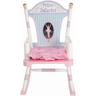 Levels of Discovery Rock A Buddies Prima Ballerina Kid Rocking Chair