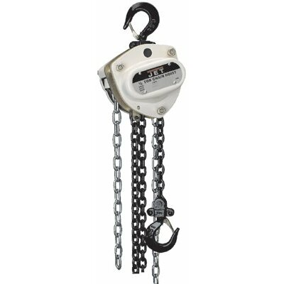Jet L100 Series Manual Chain Hoists - l100-50-10  1/2 ton 10'lift chain hoist