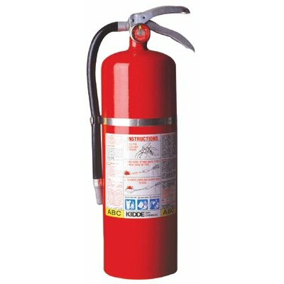 Kidde Kidde - Proplus Multi-Purpose Dry Chemical Fire Extinguishers - Abc Type 10Lb Abc Fire Ext.: 408-468002 - 10lb abc fire ext.