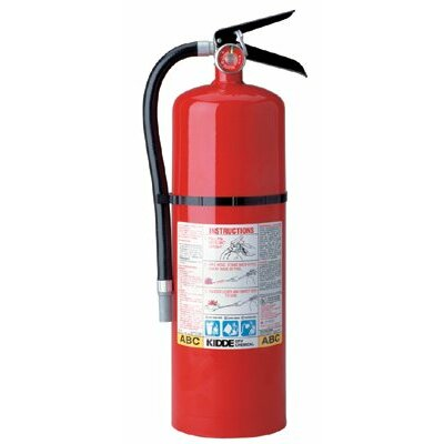 Kidde ProLine™ Multi-Purpose Dry Chemical Fire Extinguishers - ABC Type - pro 10 tcm abc 10lb drychem fire exting
