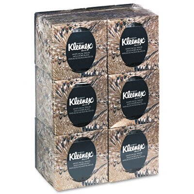 Kimberly-Clark Professional* Kleenex Facial Tissue, 95/Box, 6 Boxes/Pack