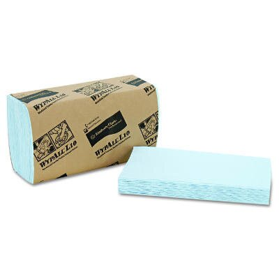 Kimberly-Clark Wypall L10 Windshield Towels, 2-Ply in Light Blue