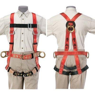 Klein Tools Full-Body Fall-Arrest/Positioning Harness - x-large fall arrest/posi