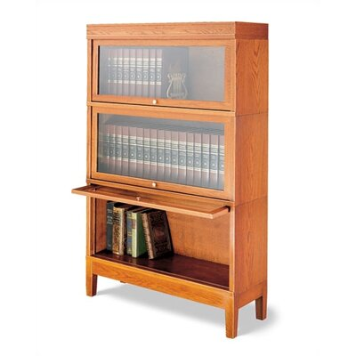 "Hale Bookcases 800 Sectional Series 54"" H Barrister Bookcase"