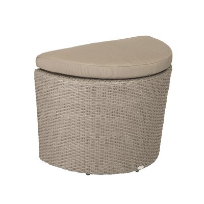 Eurostyle Linda Ottoman with Cushion