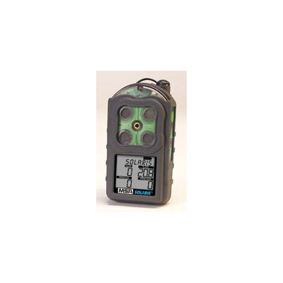 MSA Multigas Detector 2-Gas Instrument Industrial Kit For LEL And Oxygen (Includes Econo-Cal Kit And Datalogging Option)