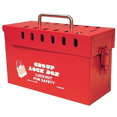 North Safety Group Lock Boxes - lock box group 13 lockstamp pro