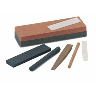 "Norton Triangular Abrasive File Sharpening Stones - ff134 4""x3/8"" fien indiatriangular file"