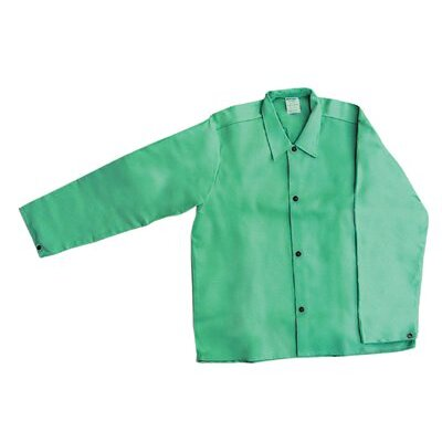 OccuNomix MIG Wear Welding Jackets - men in green welder's jacket x-large