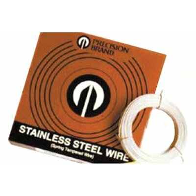 "Precision Brand Stainless Steel Wires - .050"" 1 lb stainlesssteel wire"