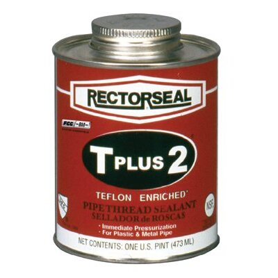 Rectorseal T Plus 2® Pipe Thread Sealants - t plus 2 1/2pt btc rectorseal pipe thread