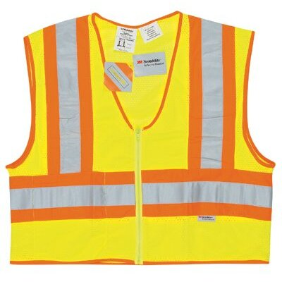River City Luminator Class Ii Flame Resistant Vests Lum. Fire Resist Cls Iipoly Fluores. Safety Lm: 611-Wccl2Lfrx3 - lum. fire resist cls iipoly fluores. safety lm