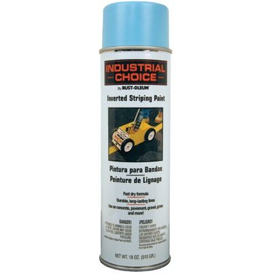 Rust-Oleum Industrial Choice S1600 System Inverted Blue Striping Spray Paint