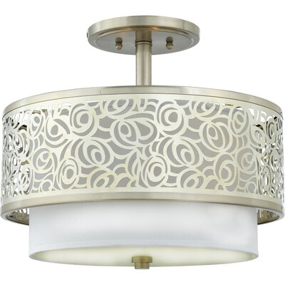 Quoizel Josslyn Semi Flush Mount