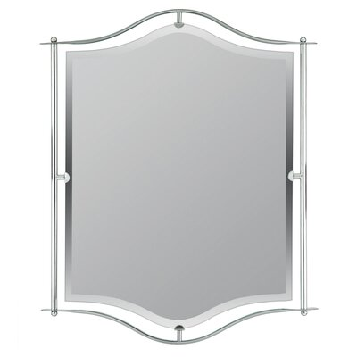 Demitri Mirror in Empire Silver