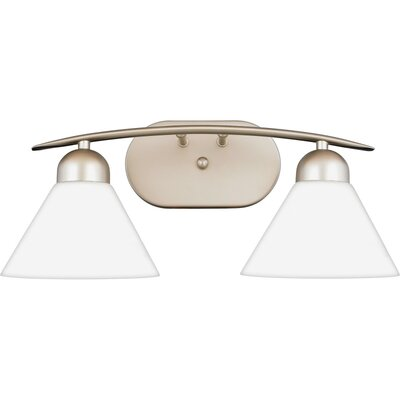 Quoizel Demitri Vanity Light in Empire Silver