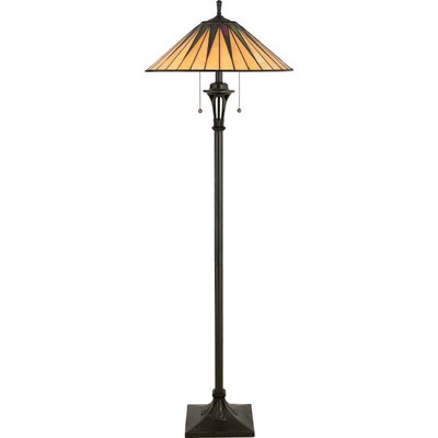 Quoizel Gotham Tiffany Floor Lamp