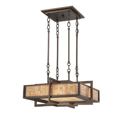 Quoizel Quoizel Fixture 4 Light Contemporary Drum Pendant