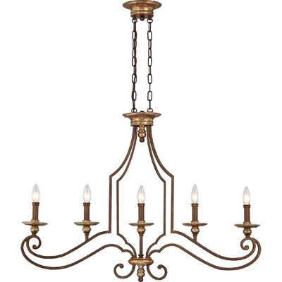 Quoizel Jillian Island Light in Heirloom