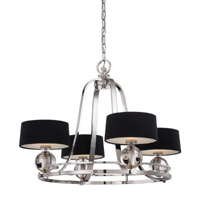 Quoizel Uptown Gotham 4 Light Chandelier