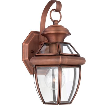 Quoizel Newbury 1 Light Outdoor Wall Lantern