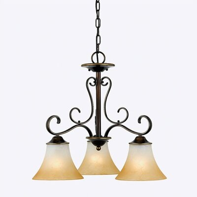 Quoizel Duchess 3 Light  Chandelier
