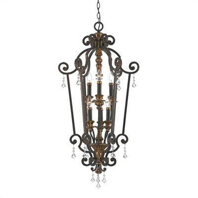 Quoizel Marquette 6 Light Chandelier