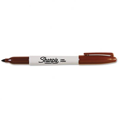 Sharpie® Permanent Marker, Fine Point, Black