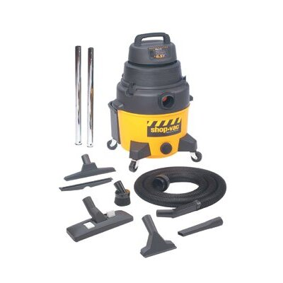 Shop-Vac Industrial Super Quiet Wet/Dry Vacuums - 8-gallon poly ind. superquiet gp w/dry va
