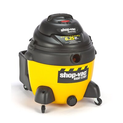 Shop-Vac 16 Gallon 6.25 Peak HP Right Stuff Wet / Dry Vacuum