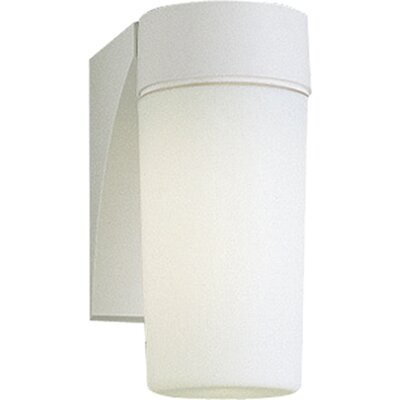 Progress Lighting 28w Hard-Nox Compact Fluorescent Outdoor Wall Lantern in White