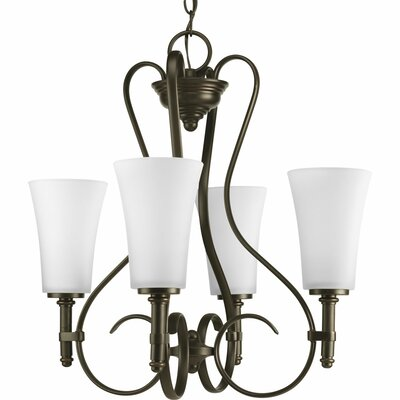 Progress Lighting Flirt 4 Light Chandelier