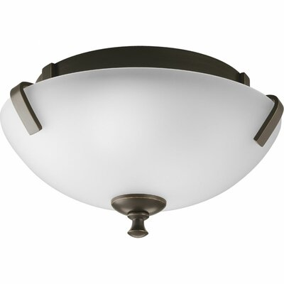 Progress Lighting Westin 2 Light Close-To-Ceiling Flush Mount