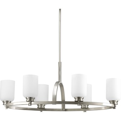 Progress Lighting Orbitz 6 Light Chandelier