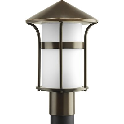 Progress Lighting X3848 Series 1 Light Welcome Outdoor Post Lantern