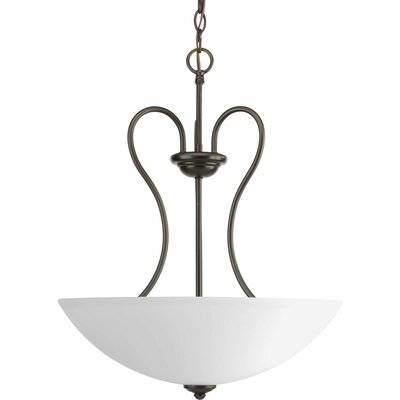 Heart 3 Light Hall and Foyer Pendant