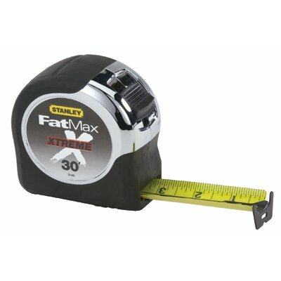 "Stanley Tools Stanley - Fatmax Xtreme Tape Rules Fatmax Xt W/Coating 1-1/4"" X 35' Tape Rule: 680-33-900 - fatmax xt w/coating 1-1/4"" x 35' tape rule"