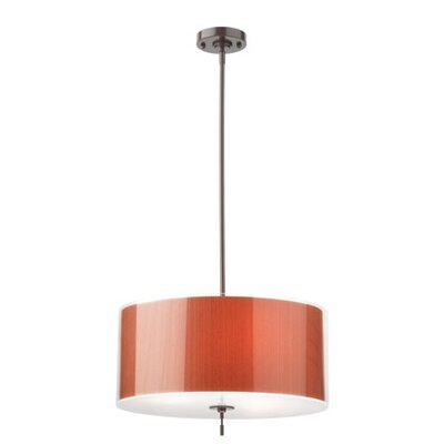 Thomas Lighting Subtle 3 Light Drum Pendant