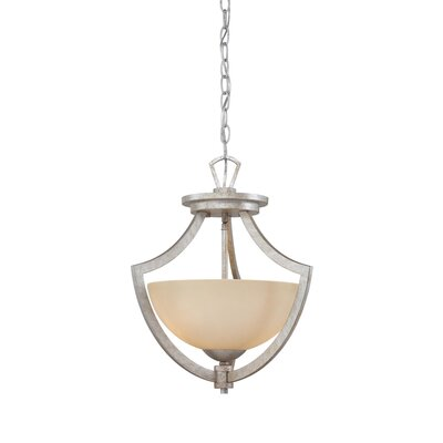 Charles 2 Light Inverted Pendant