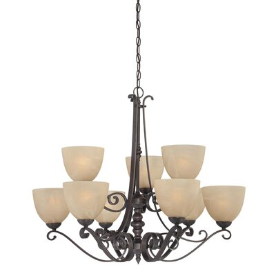Melody 9 Light Chandelier