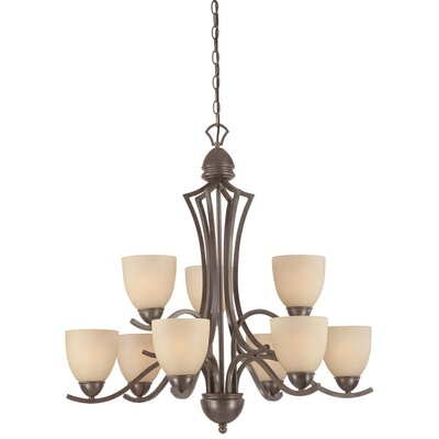 Thomas Lighting Triton 9 Light Chandelier