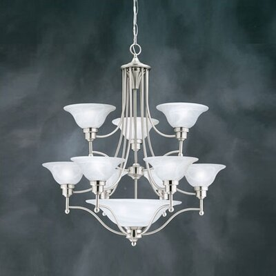 Cirrus 9 Light Chandelier