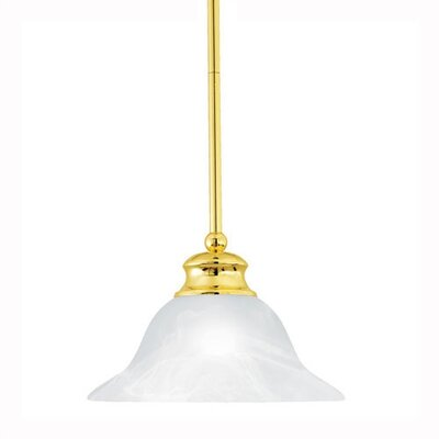 Thomas Lighting Alabaster 1 Light Pendant