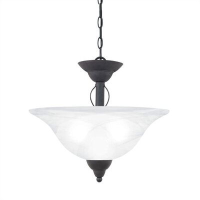 Thomas Lighting Cortland 2 Light Convertible Inverted Pendant