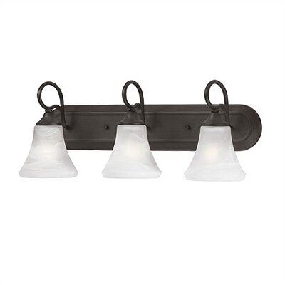 Thomas Lighting Elipse Strip 3 Light Vanity Light