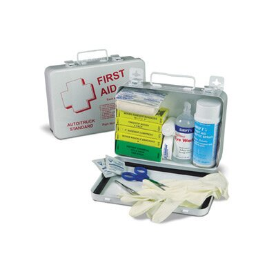 Swift First Aid Medium Truck Kit First Aid Kit In 9 1/16&quot; X 6 5/16&quot; X 2 3/8&quot; Weather Proof Box (12 Per Case)