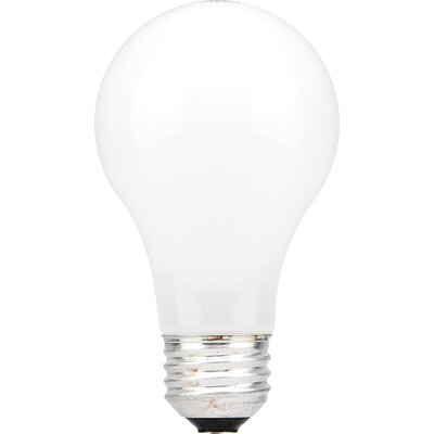 Sylvania A19 60 Watt 120 V Incandescent Bulb in Standard Coat (4 Pack)