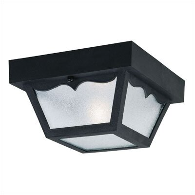 Westinghouse Lighting Exterior  Hi-Impact Polyproylene Porch Light in Black