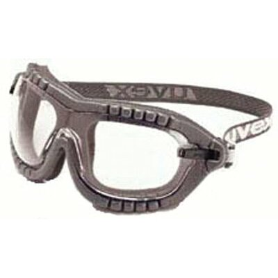 Uvex by Sperian Fury® Goggles - uvex fury spectacle/goggle black frame